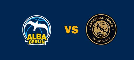 More Info for Pokal: ALBA BERLIN - Basketball Löwen Braunschweig