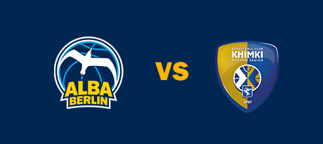 More Info for Euroleague: ALBA BERLIN - Khimki Moskau Region