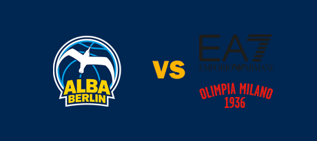 More Info for Euroleague: ALBA BERLIN - AX Armani Exchange Mailand