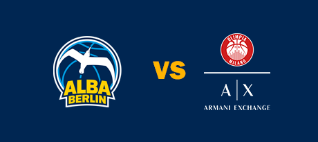 More Info for Euroleague: ALBA BERLIN - AX Armani Mailand