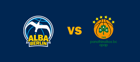 More Info for Euroleague: ALBA BERLIN - Panathinaikos Athen