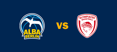 More Info for Euroleague: ALBA BERLIN - Olympiakos Piräus