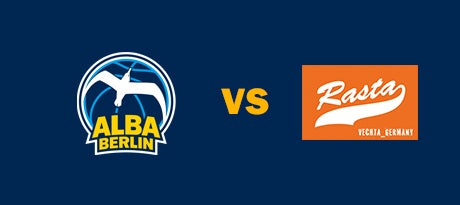 More Info for Neuer Termin: ALBA BERLIN - Rasta Vechta