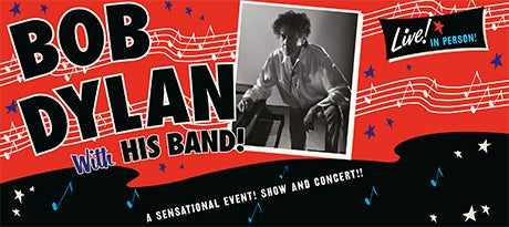 More Info for Bob Dylan with his band