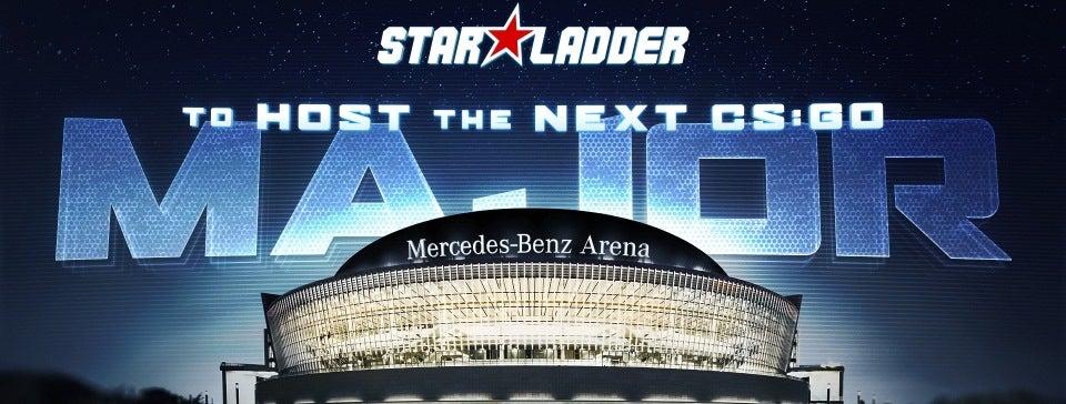 starladder cs go major mercedes benz arena berlin. Black Bedroom Furniture Sets. Home Design Ideas