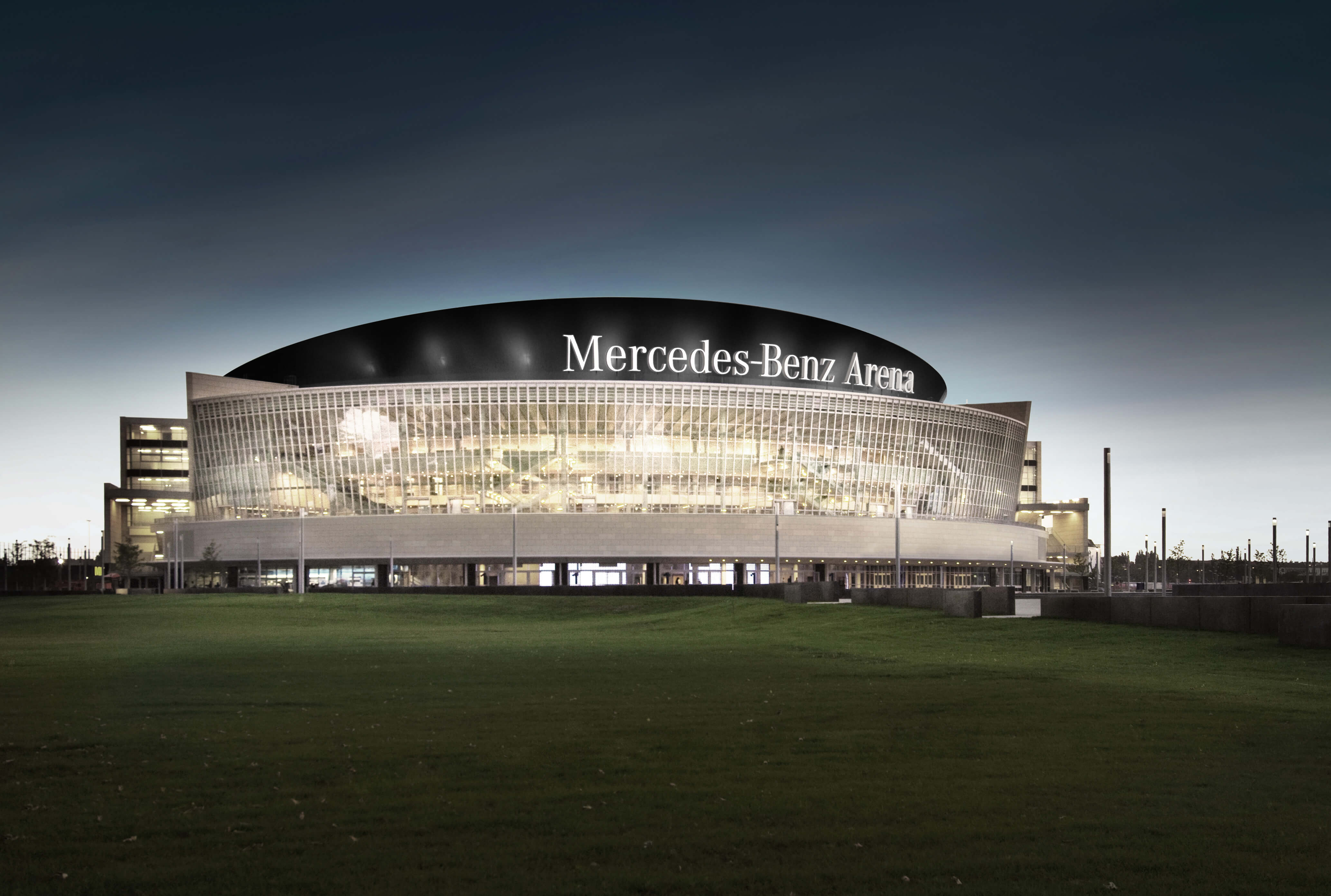 mercedes benz arena berlin au enansichten. Black Bedroom Furniture Sets. Home Design Ideas