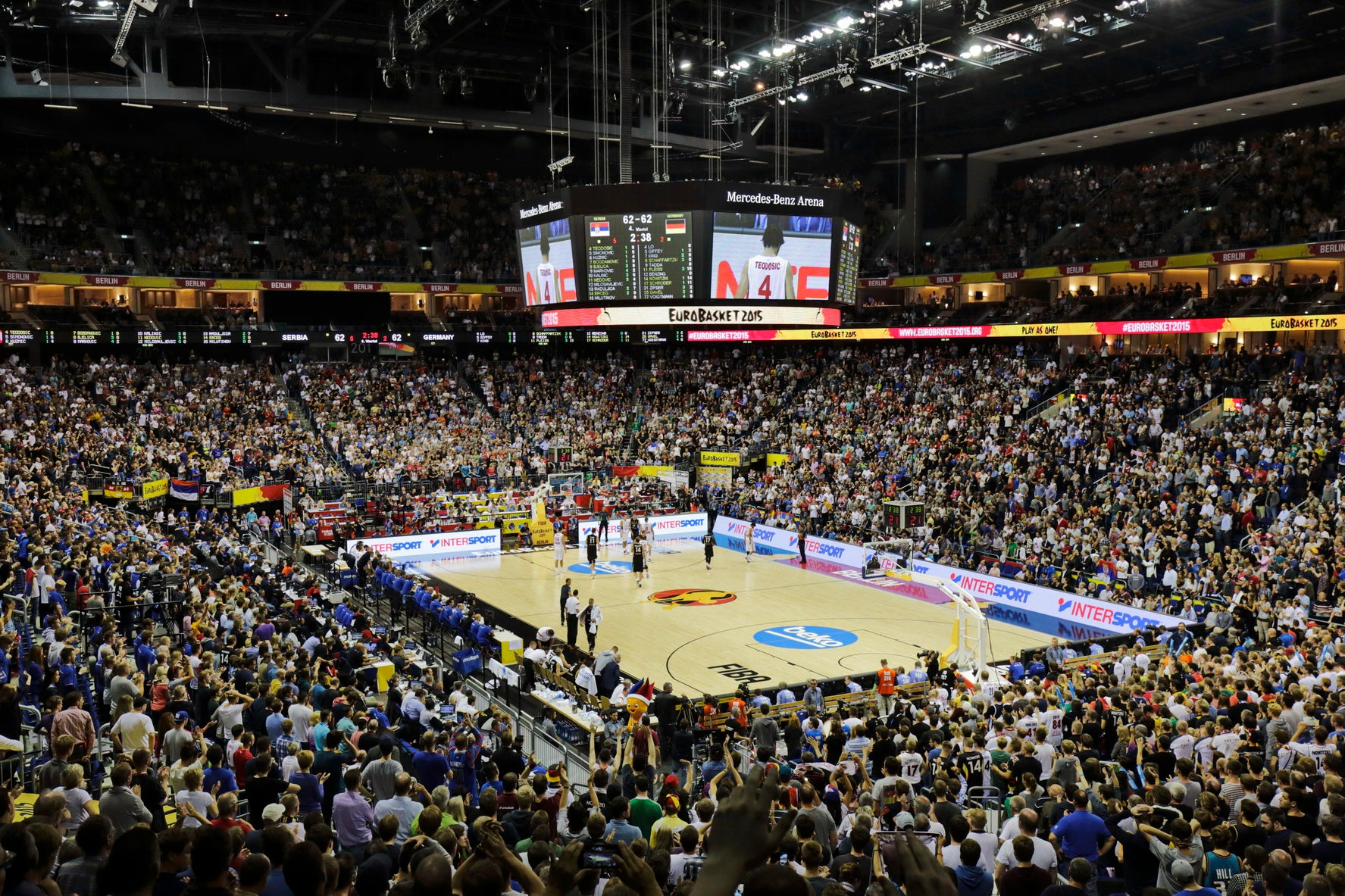 Euroleague final four premium tickets mercedes benz for Mercedes benz stadium event schedule