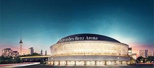 mercedes benz arena berlin. Black Bedroom Furniture Sets. Home Design Ideas