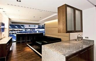 entertainment suite mercedes benz arena berlin. Black Bedroom Furniture Sets. Home Design Ideas