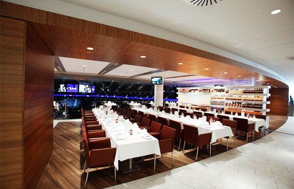 Dine Amp View Mercedes Benz Arena Berlin